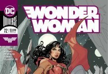 Wonder Woman #72 comic
