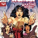 Wonder Woman #74 comic