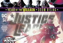 Justice League #34 comic