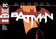 Batman ANNUAL #4 comic