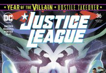 Justice League #36 comic