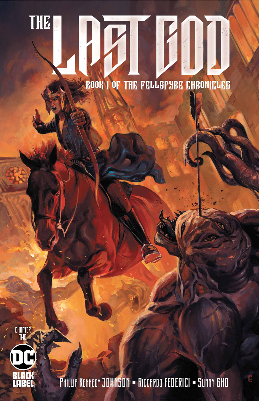 LAST GOD #1 BOOK ONE OF THE FELLSPYRE CHRONICLE DC COMIC BOOK NEW OCT 2019
