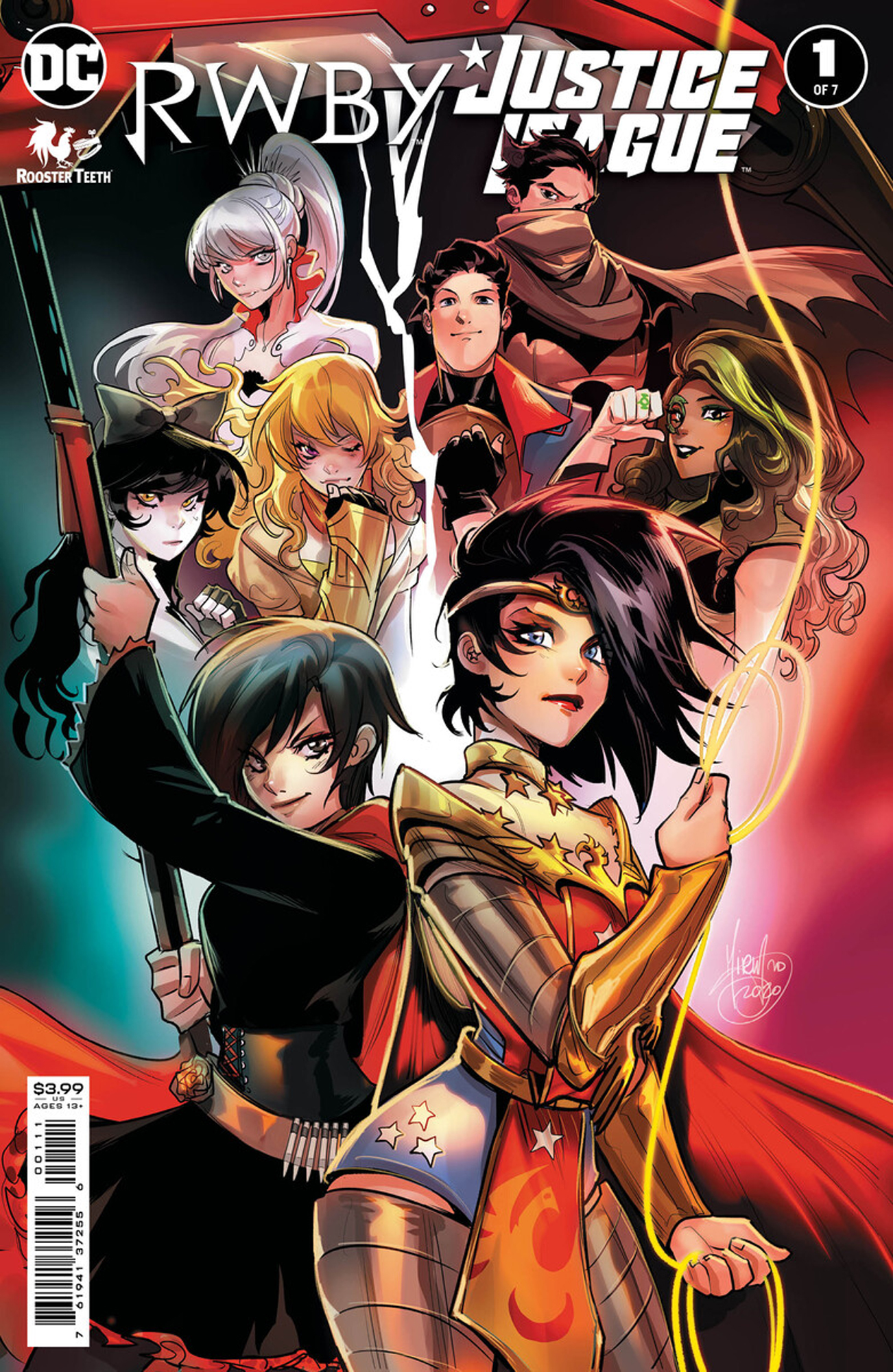 RWBY/Justice League #1 coming March 9, 2021 as a DC Digtal First