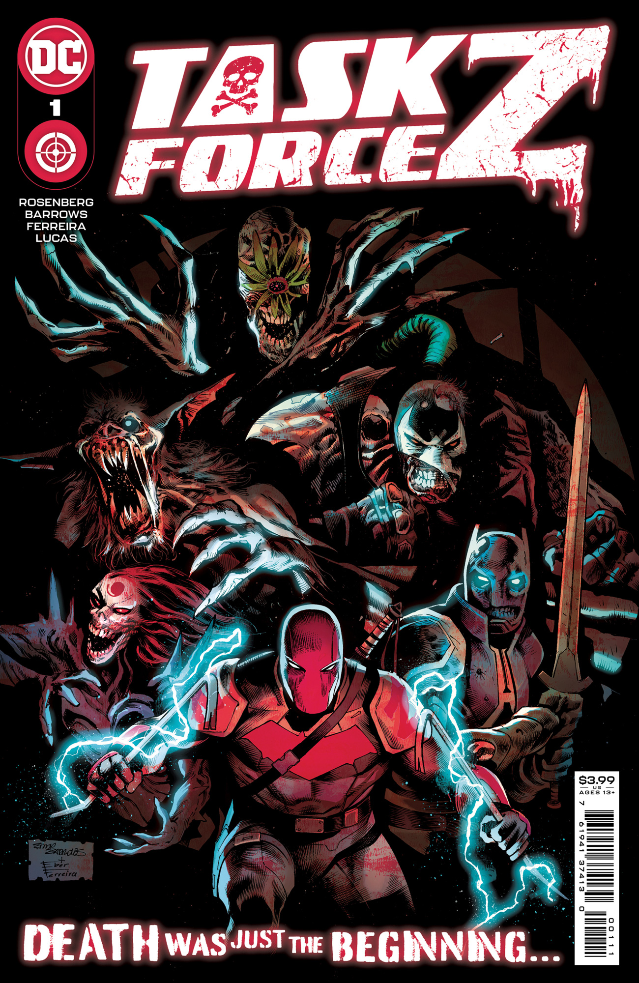 TASK FORCE Z #1 - PREVIEW